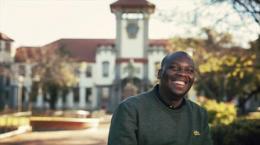 University of Free State student