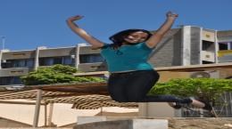 Polytechnic of Namibia jumping student