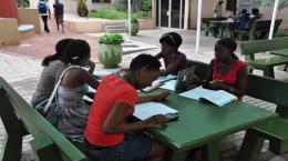 Polytechnic of Namibia students