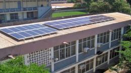 KNUST solar panels